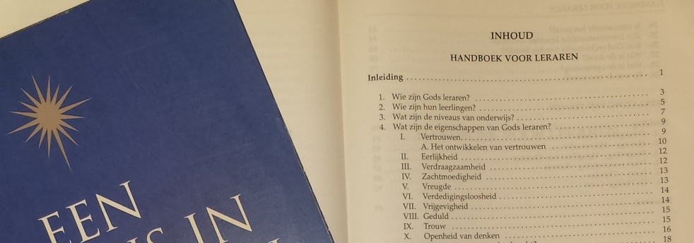 Handboek Voor Leraren - Cover Image