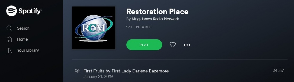Restoration Place - Cover Image