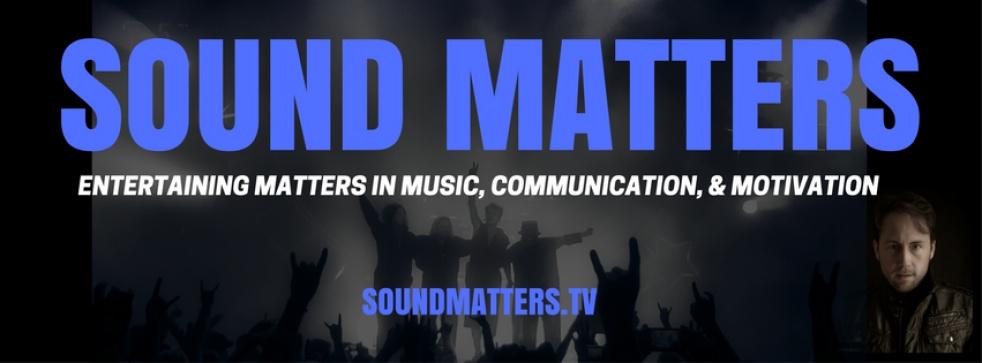 Sound Matters with Tom Leu - show cover