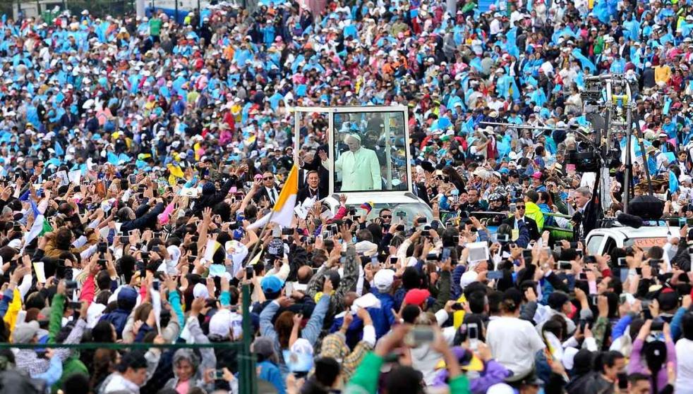 Los discursos de Francisco en Colombia - show cover