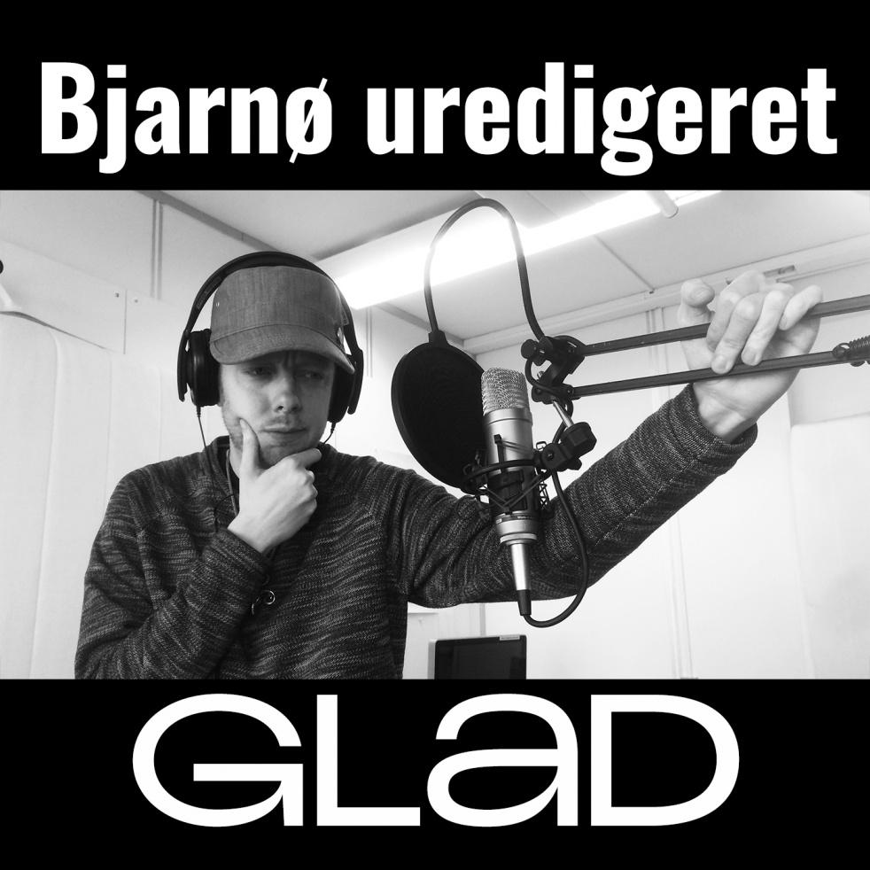 RADIO GLAD - Bjarnø Uredigeret - show cover