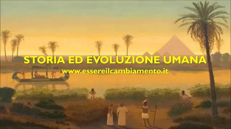 Storia ed Evoluzione Umana - immagine di copertina