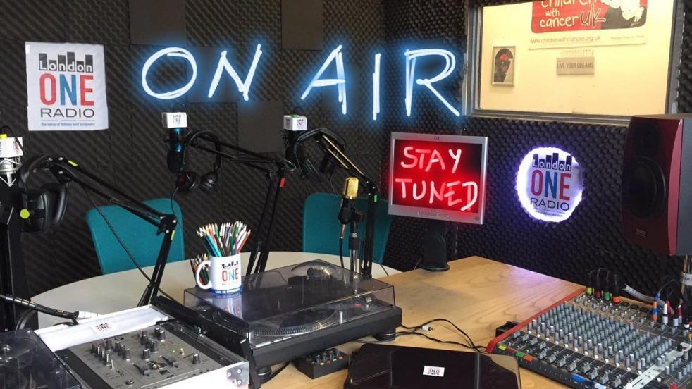LondonONERadio - - show cover