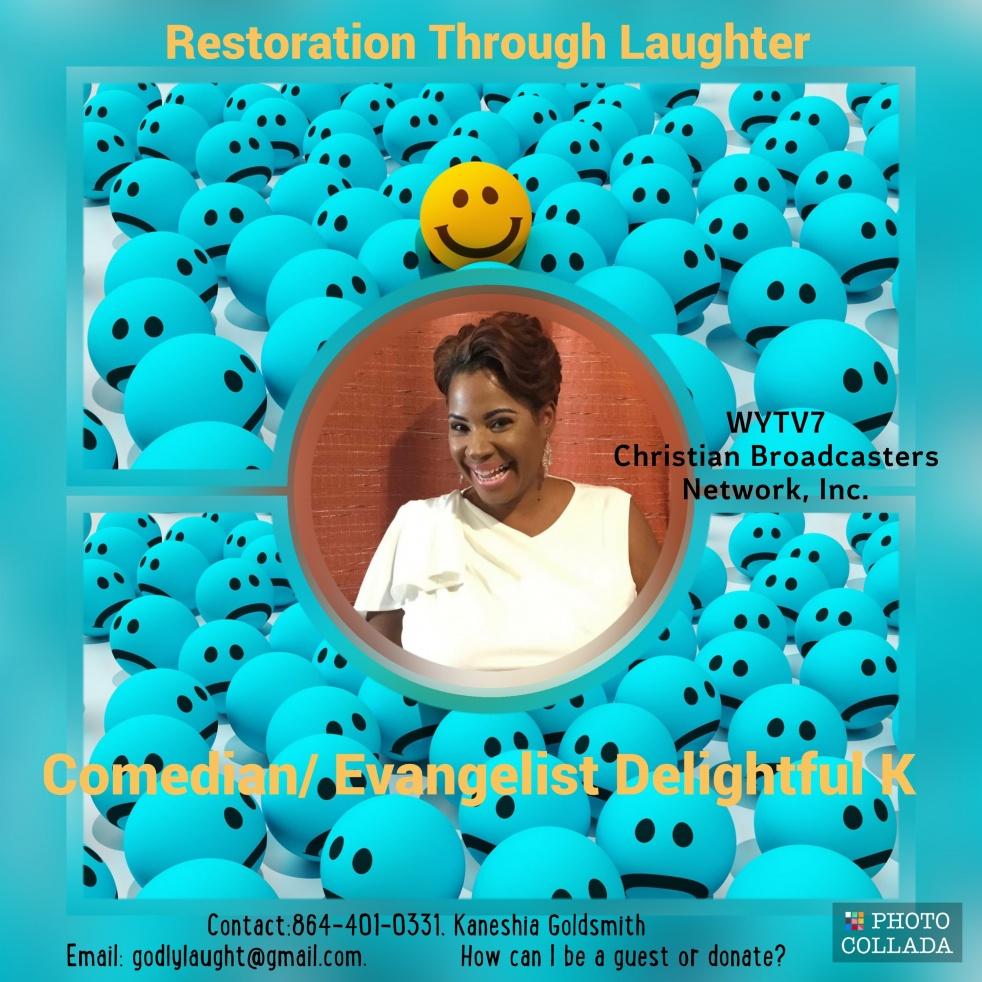 Restoration Through Laughter - immagine di copertina dello show
