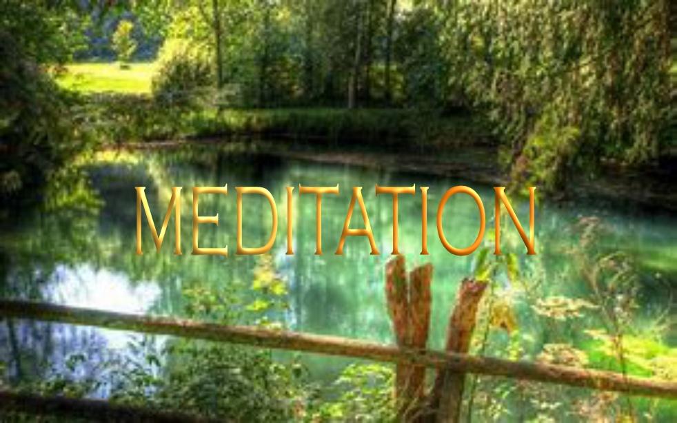 Meditation - immagine di copertina
