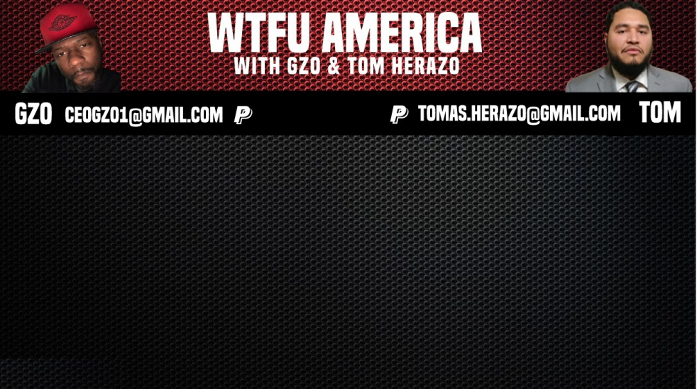 WTFU America with Gzo & Tom Herazo - show cover