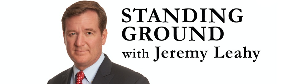 Standing Ground with Jeremy Leahy - show cover