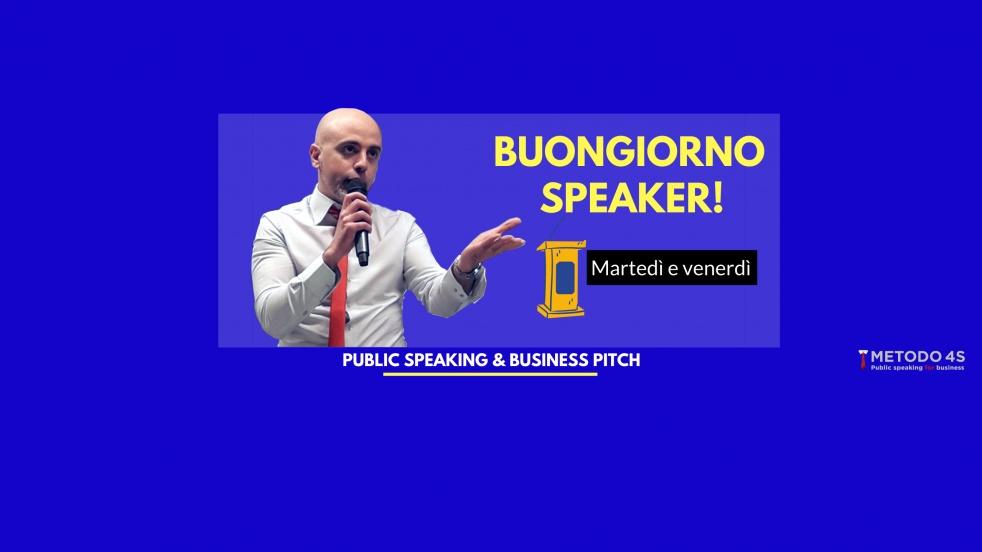 Buongiorno Speaker! - imagen de portada