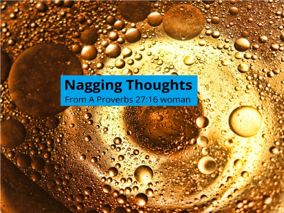 Nagging Thoughts - show cover
