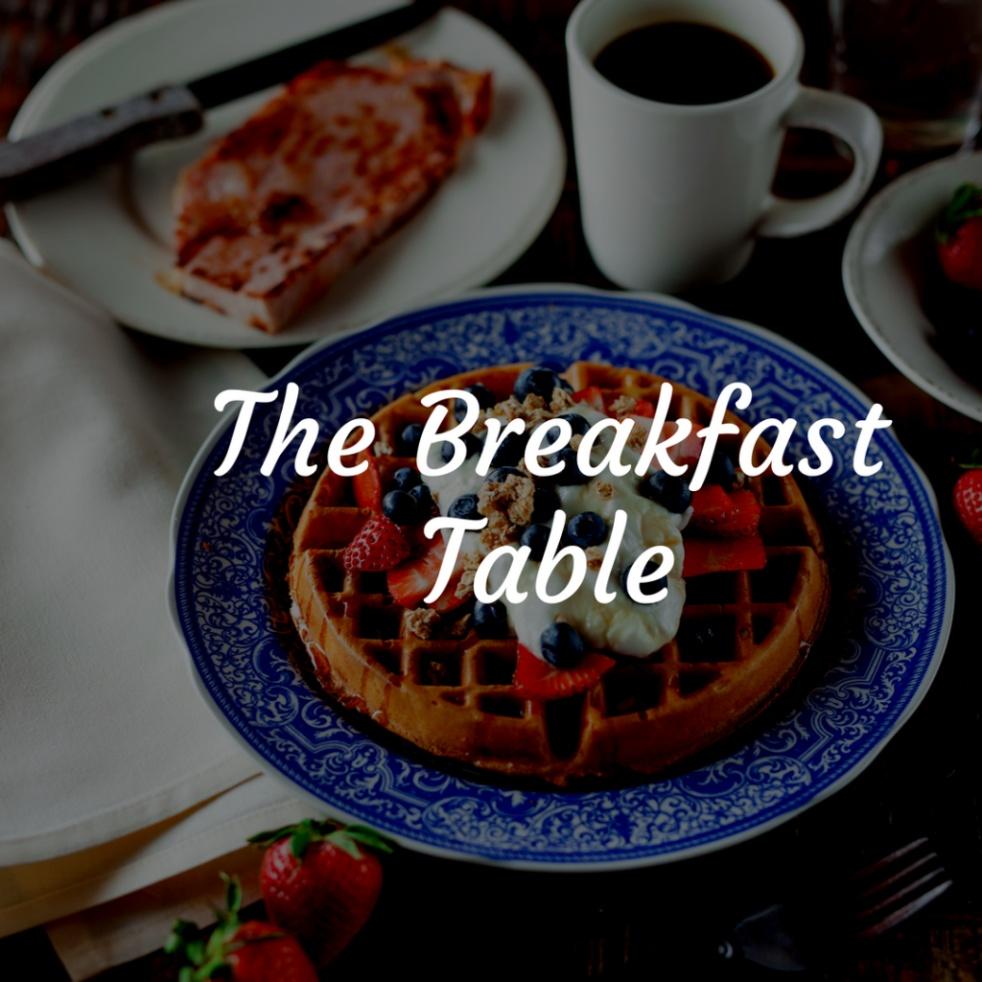 The Breakfast Table w/J Diamond, M Renee - show cover