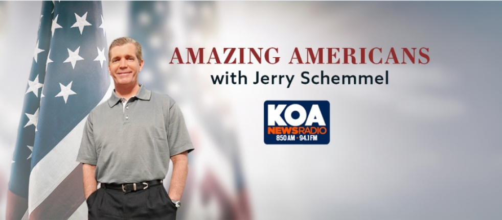 Amazing Americans with Jerry Schemmel - show cover