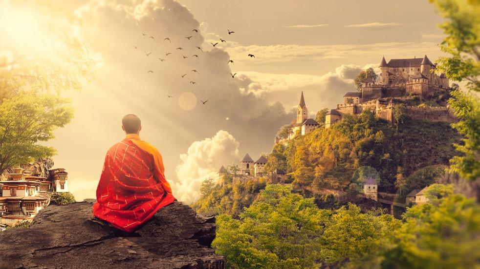 Meditazione - imagen de show de portada