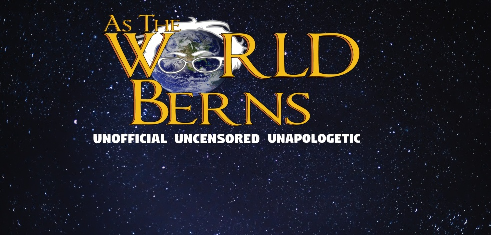 As The World Berns - imagen de show de portada