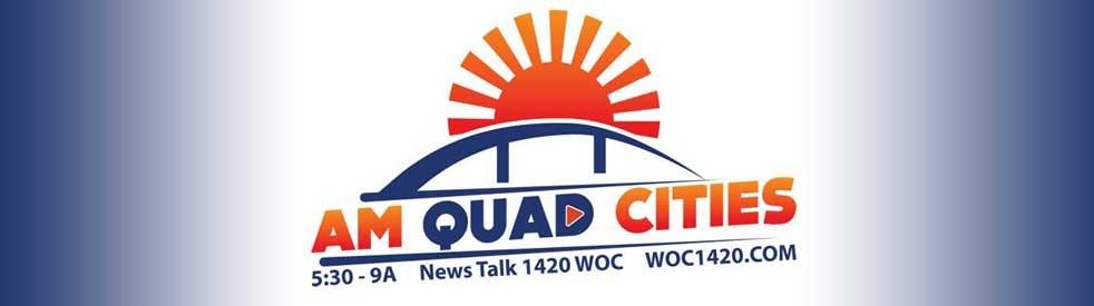 WOC AM Quad Cities - show cover