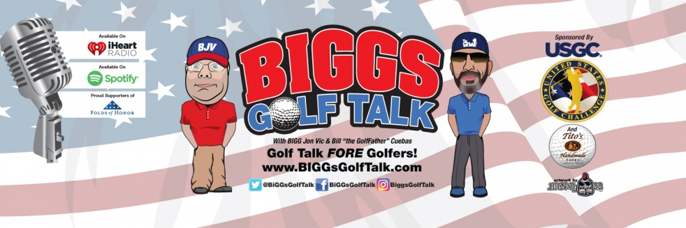 BiGGs GOLF TALK - immagine di copertina dello show