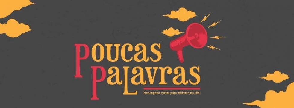 Poucas Palavras - show cover
