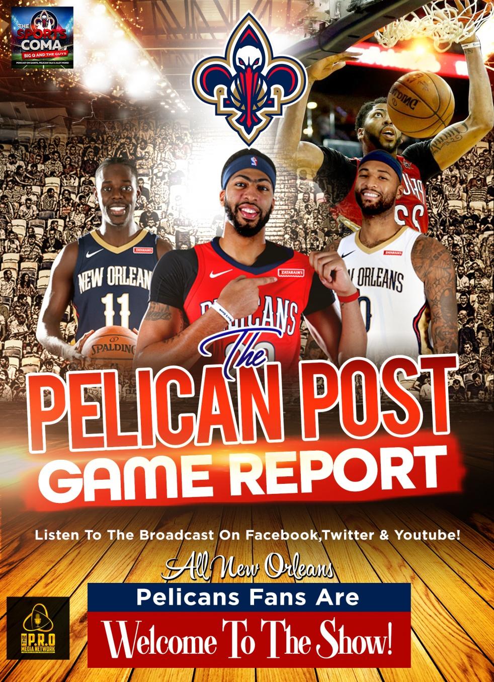 The Pelican Post Game Report - imagen de show de portada