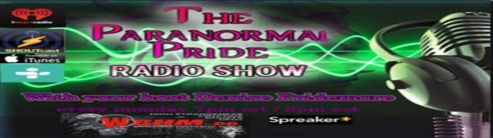 Paranormal Pride - show cover