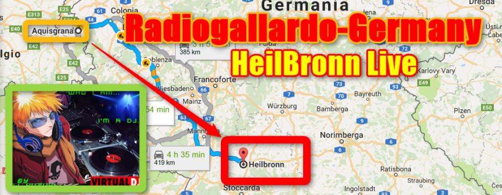 Heilbronn - RadioGallardo-Germany - show cover