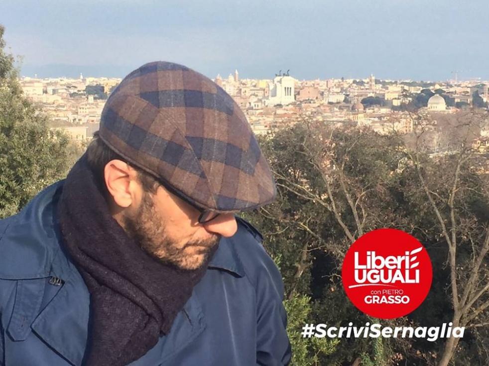 #ScriviSernaglia - imagen de show de portada