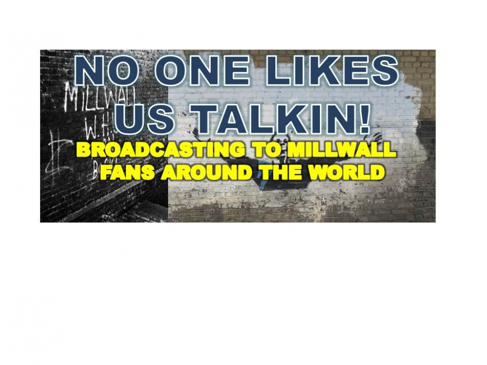 OUR MILLWALL FANS SHOW - Topical Weekly Talks - Cover Image