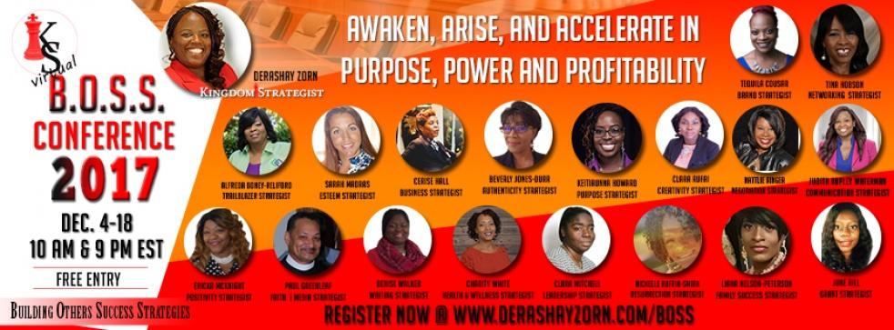 Purpose, Power and Profitability - imagen de show de portada