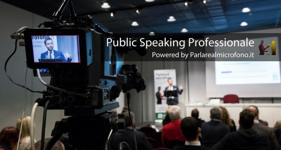 Public Speaking Professionale - show cover
