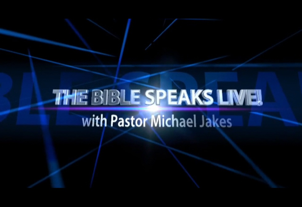 The Bible Speaks Live! - show cover