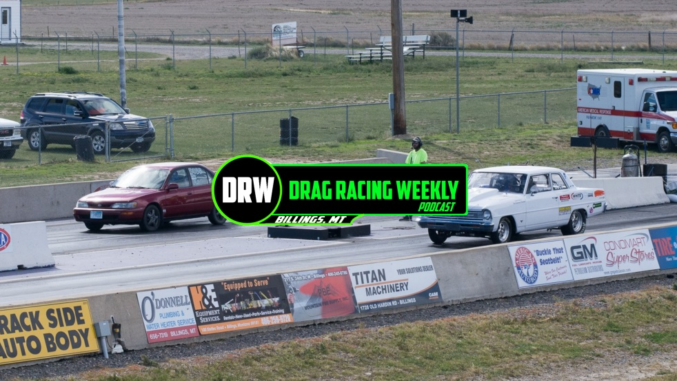Drag Racing Weekly - show cover
