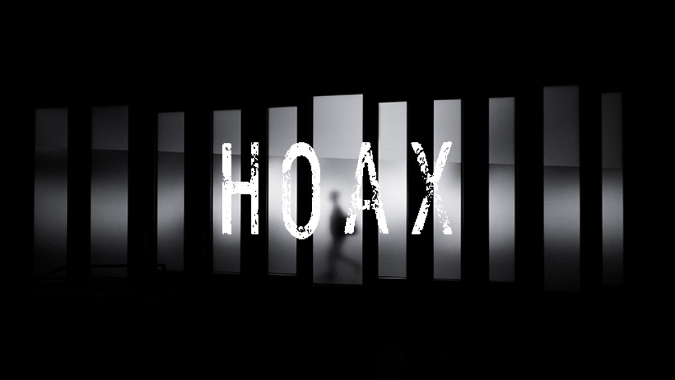 Hoax - show cover
