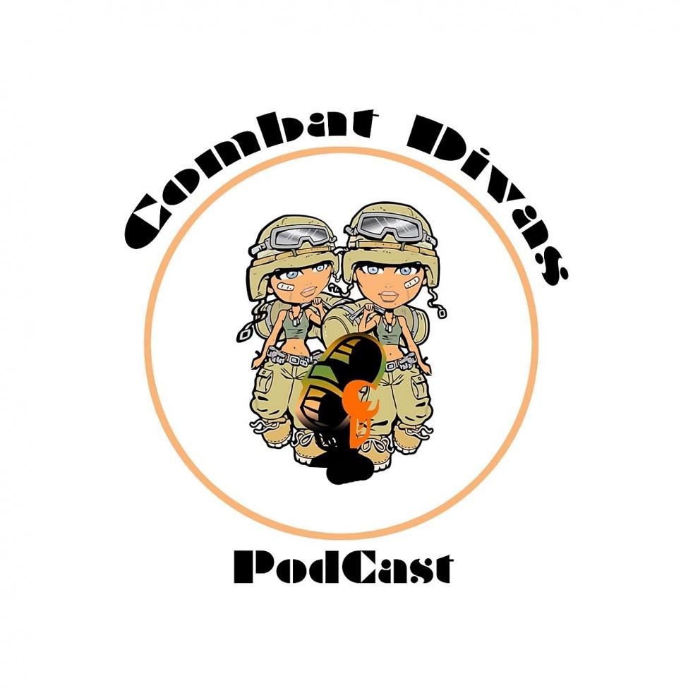 The Combat Divas Podcast - immagine di copertina dello show
