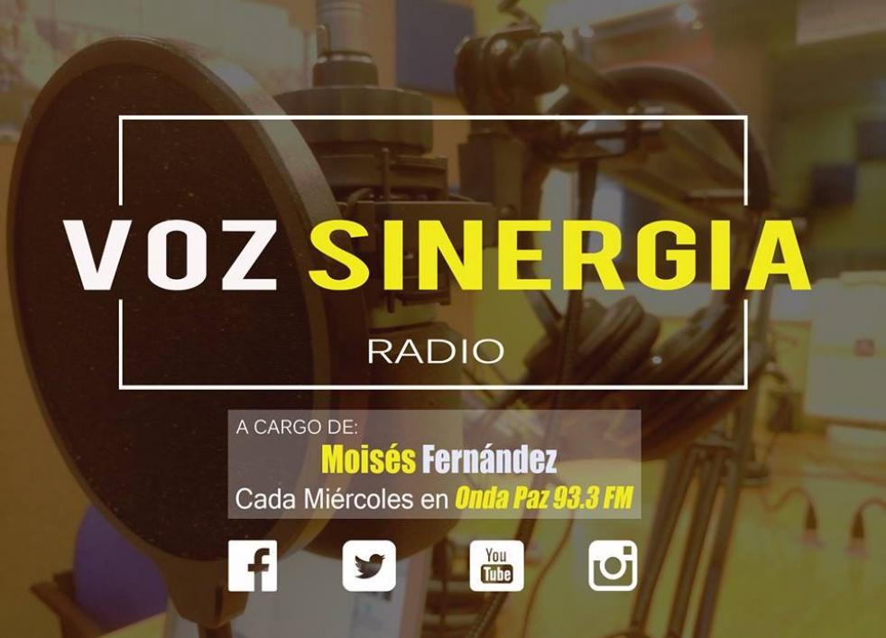 VOZ SINEGIA RADIO - imagen de show de portada