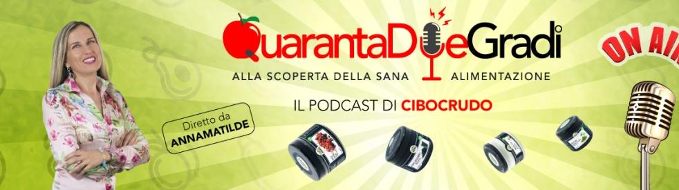 QuarantaDueGradi il podcast di CiboCrudo - immagine di copertina dello show