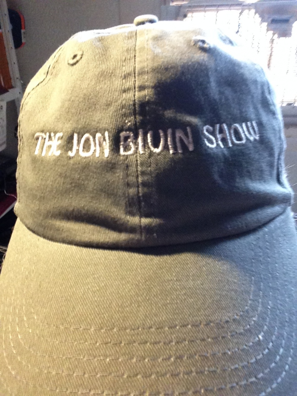 The Jon Bivin Show - show cover