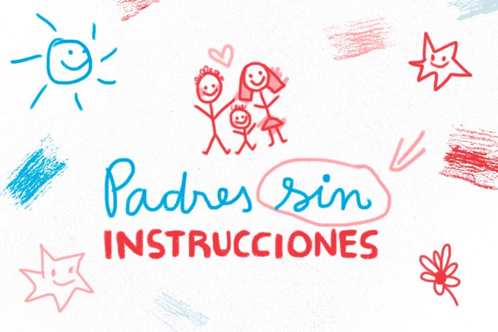 Padres sin instrucciones - imagen de show de portada
