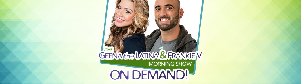 Geena the Latina & Frankie V ON DEMAND - Cover Image