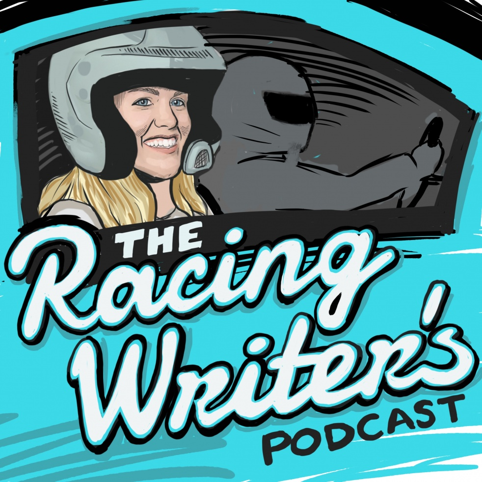 The Racing Writer's Podcast - immagine di copertina