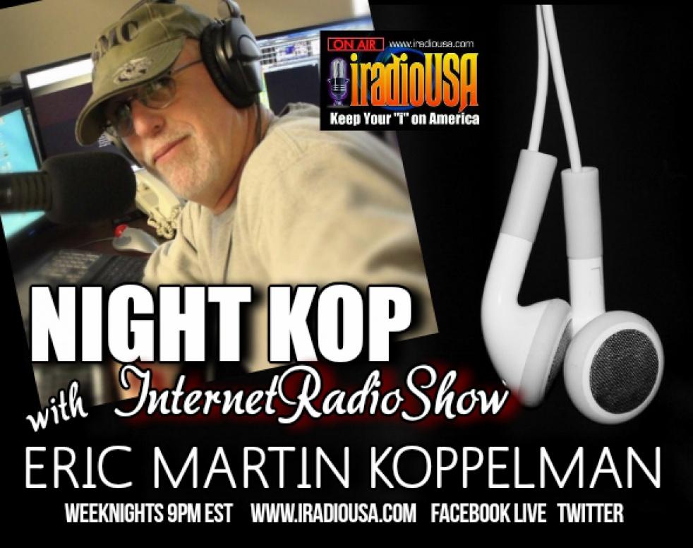 NIGHT KOP WITH ERIC MARTIN KOPPELMAN - immagine di copertina dello show