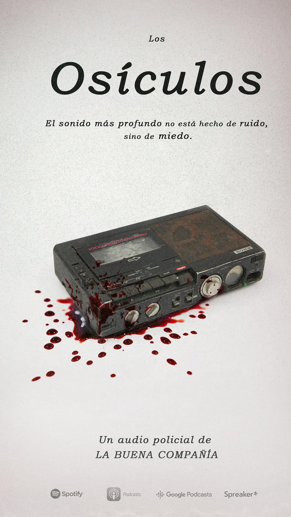 Los Osículos - Audio policial - Cover Image