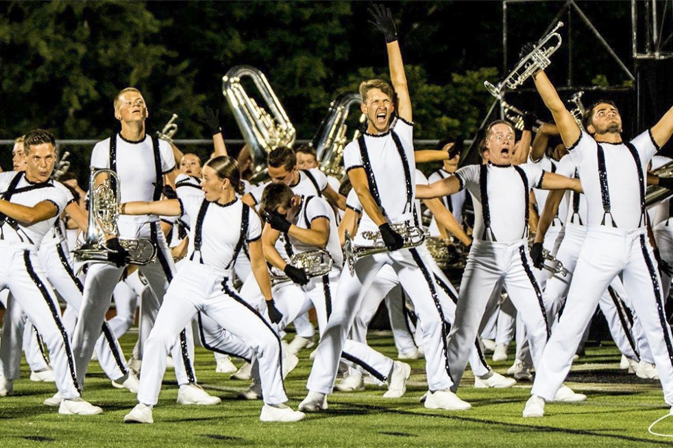 Drum Corps AF - show cover