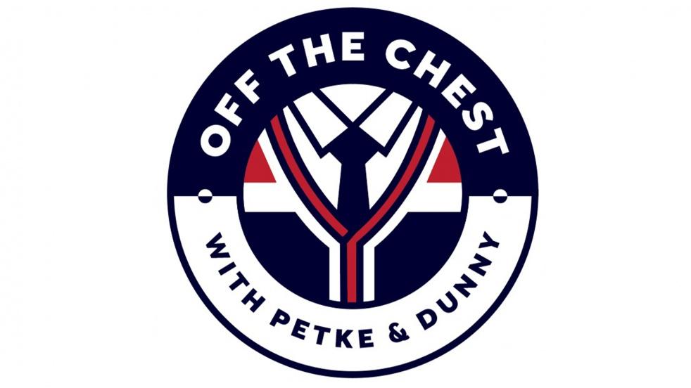 Off the Chest with Petke and Dunny - imagen de show de portada