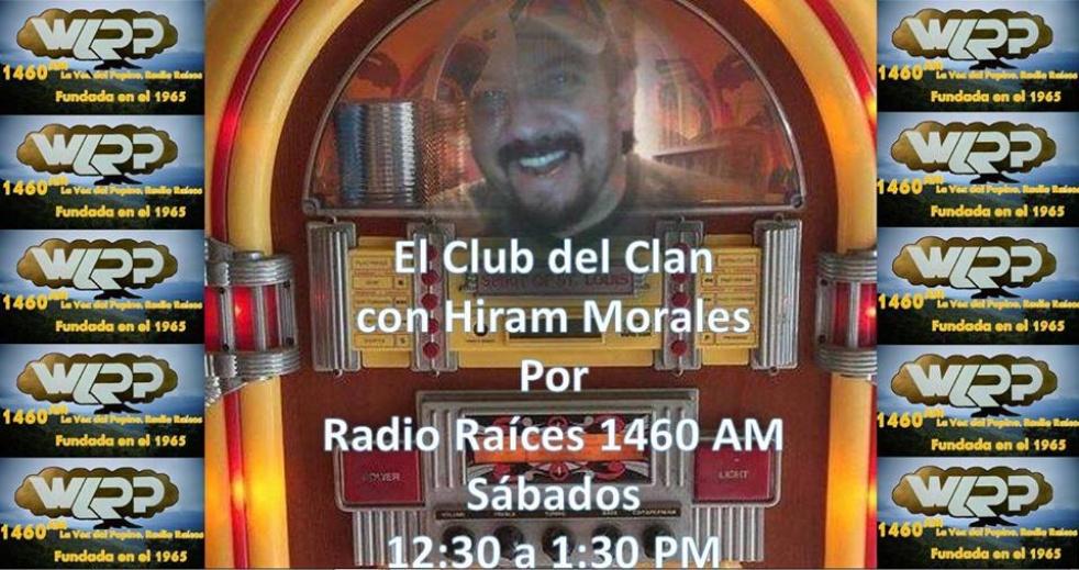 CLUB DEL CLAN CON HIRAM MORALES - show cover