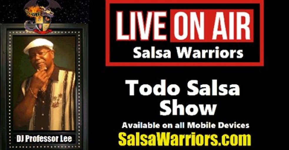 Todo Salsa With Prof Lee - Cover Image