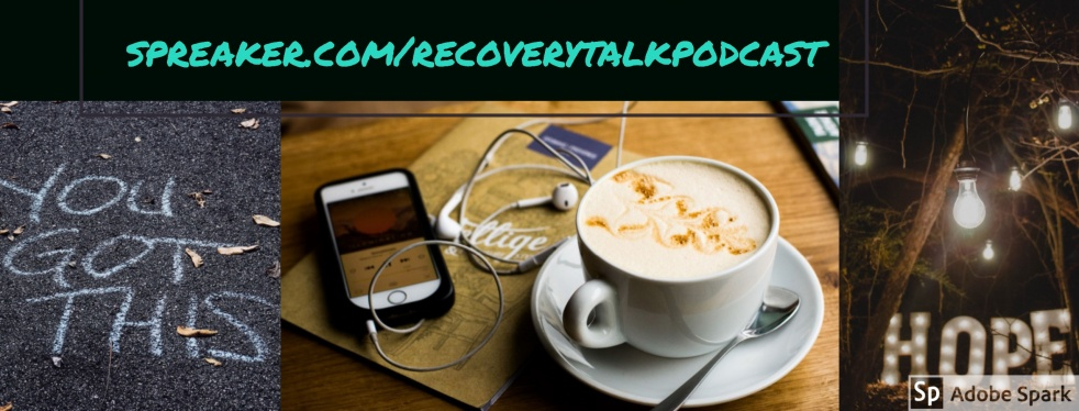 Recovery Talk Podcast - show cover