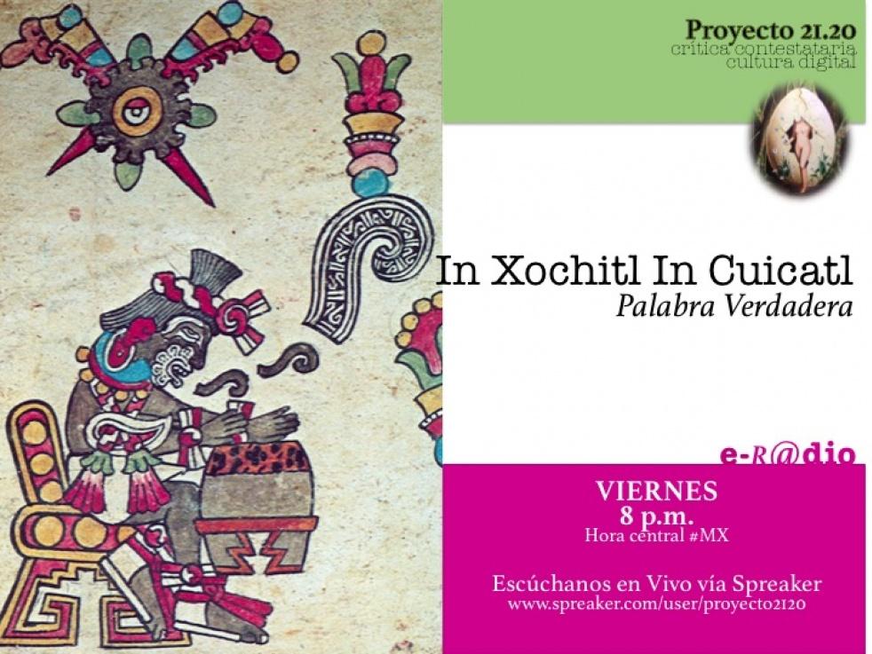In Xochitl in Cuicatl - imagen de show de portada