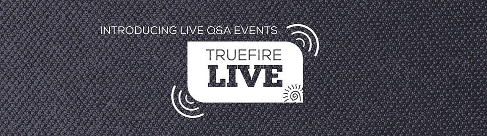 TrueFire Live: Guitar Lessons + Q&As - Cover Image