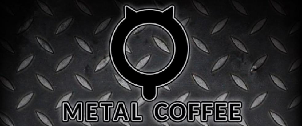 METAL COFFEE PODCAST - imagen de show de portada
