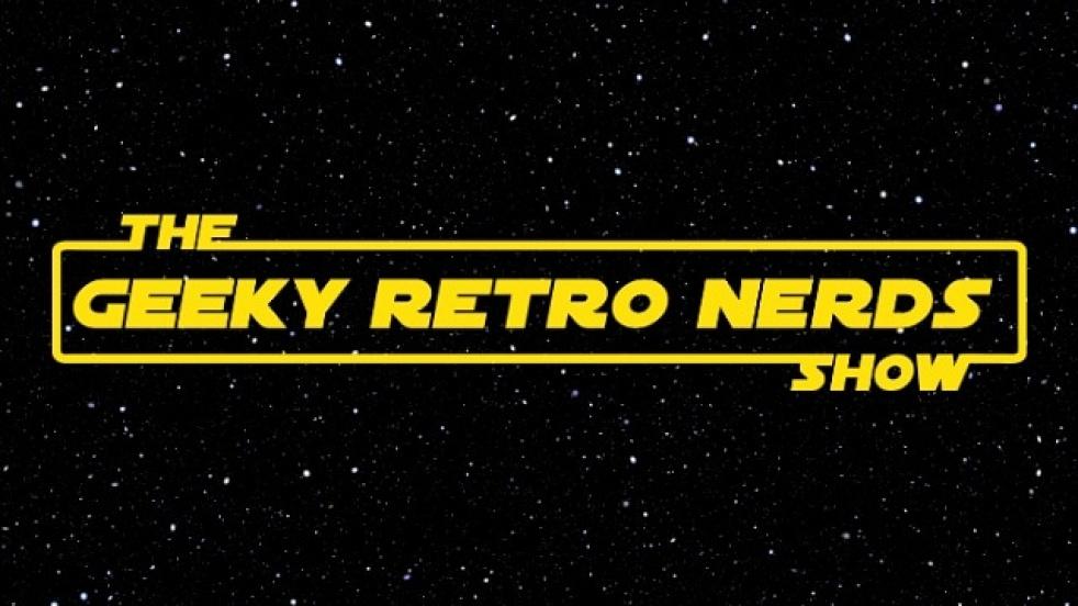 Geeky Retro Nerds Show - Pop Culture Pod - immagine di copertina