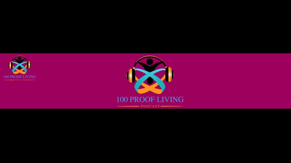 100 Proof Living - imagen de portada
