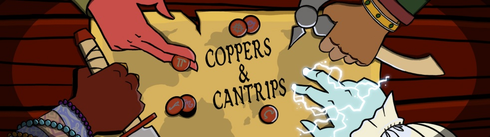 Coppers and Cantrips - show cover